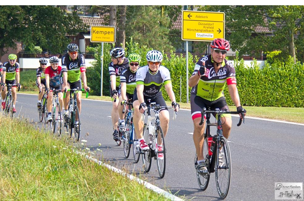 Ciclisti unterwegs